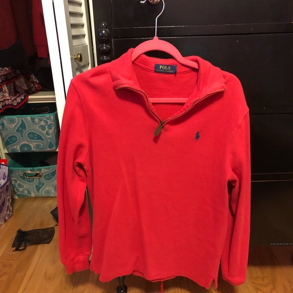 Polo by Ralph Lauren Jackets & Blazers - Red Polo quarter zip.
